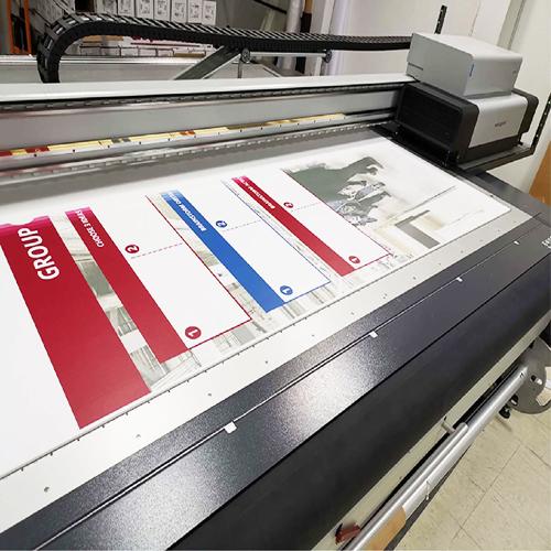 Flatbed print on kappaline