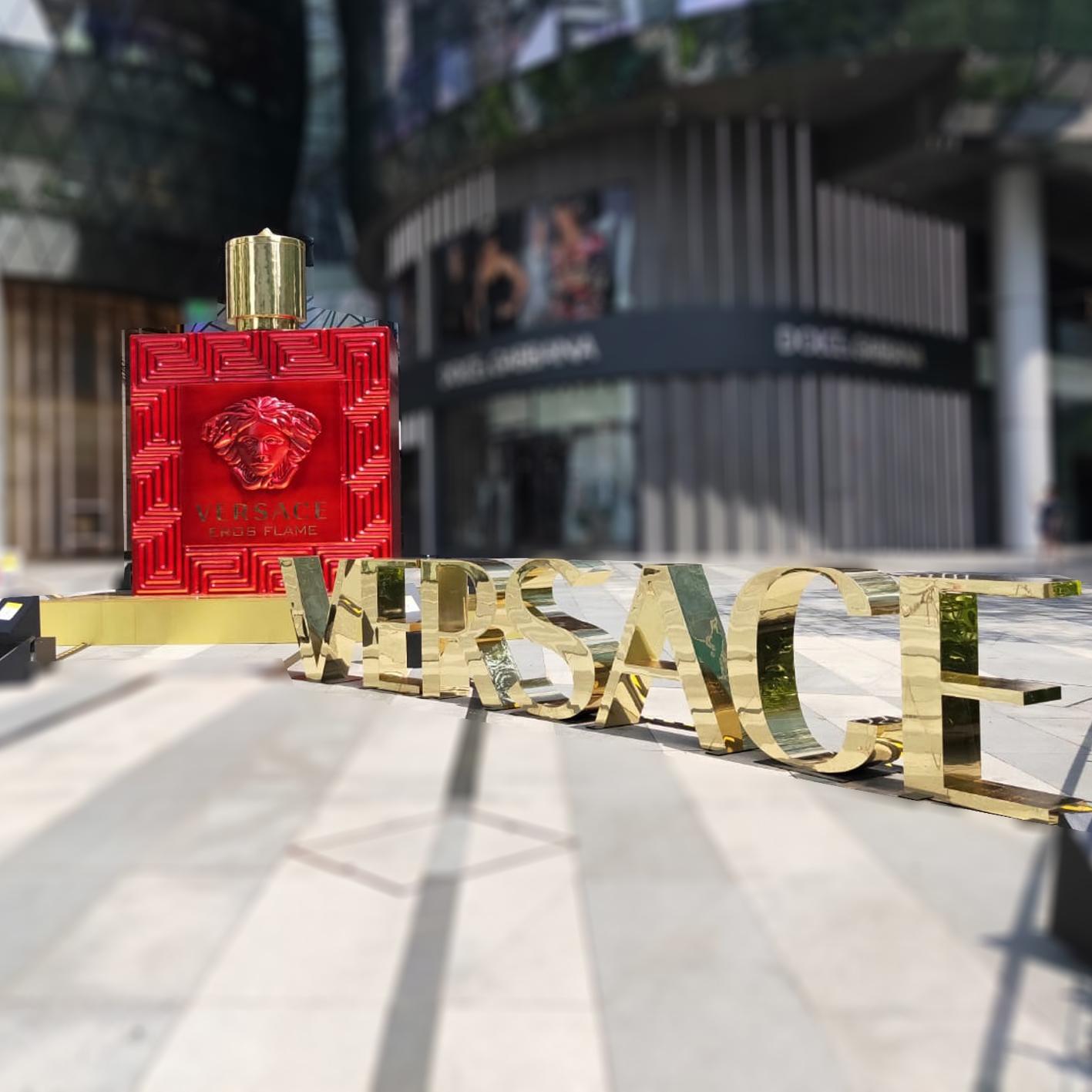 3D Versace Bottle