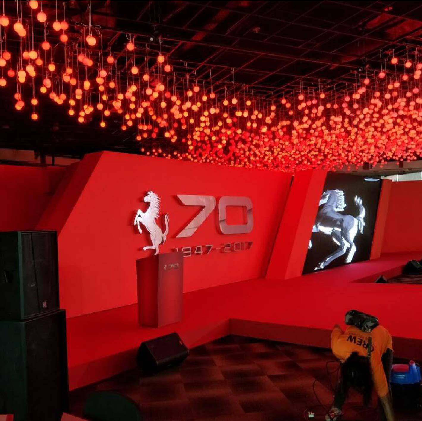 Ferrari 70th Anniversary Event