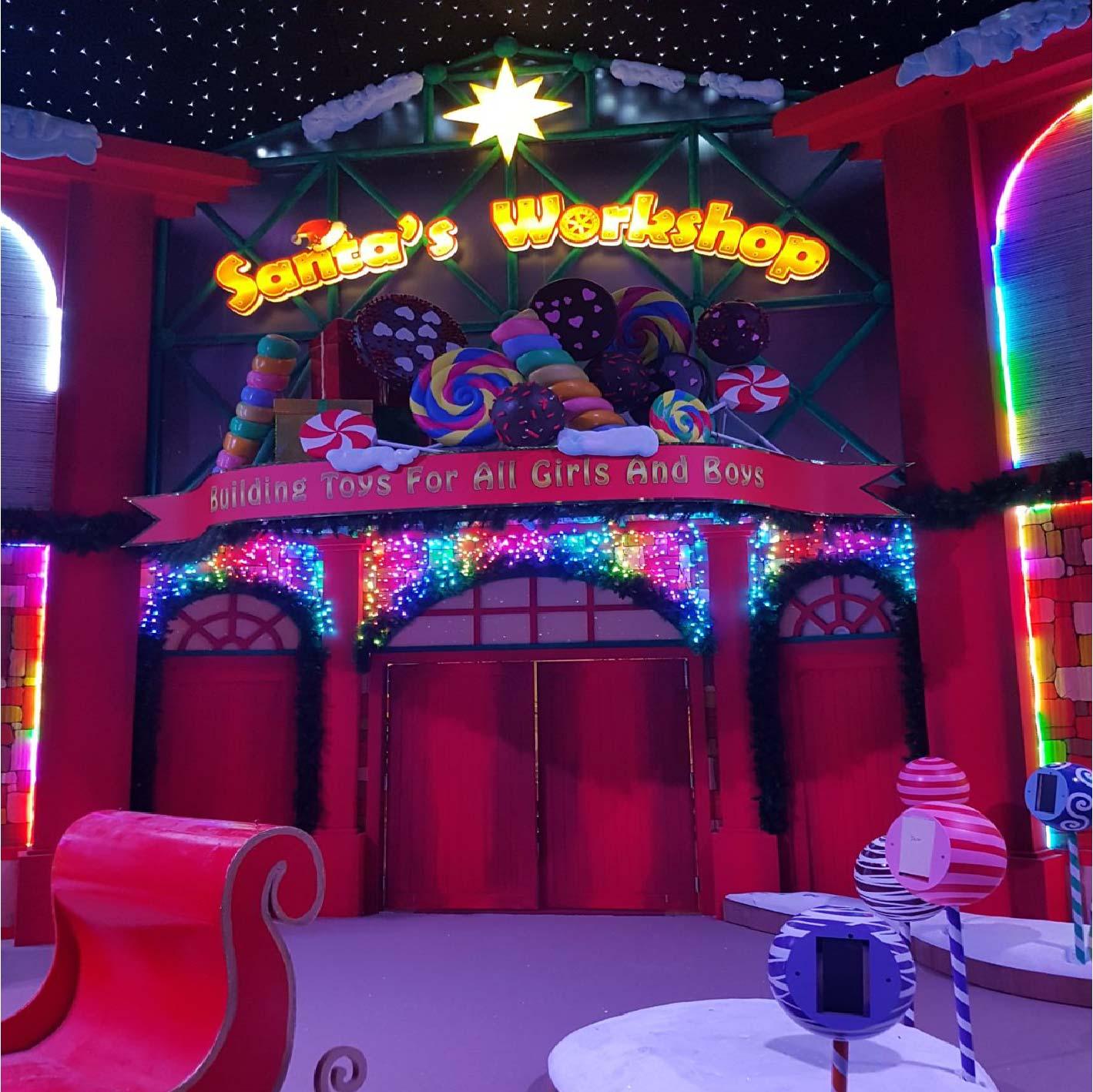 Xmas workshop at Resort World